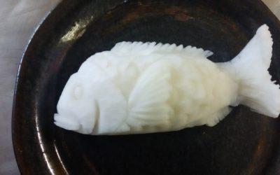鯛の剥き物